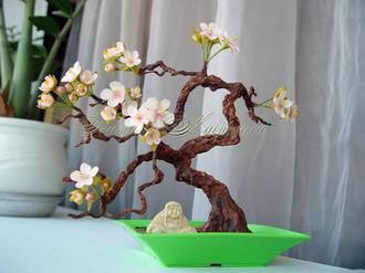 Дерево из глины своими руками